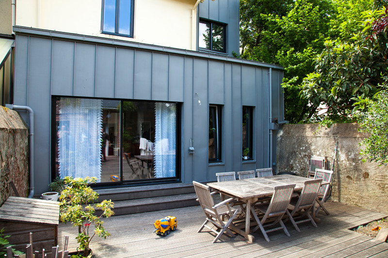 Fenêtres innovantes pour maison originale - Réalisations Menuiserie   Bouvet