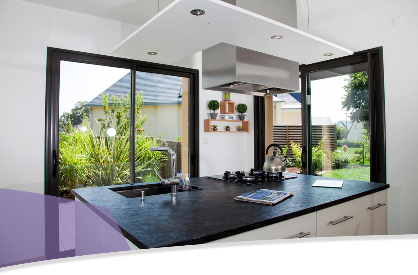 Fenêtres Et Baies Vitrées Aluminium Menuiserie Bouvet