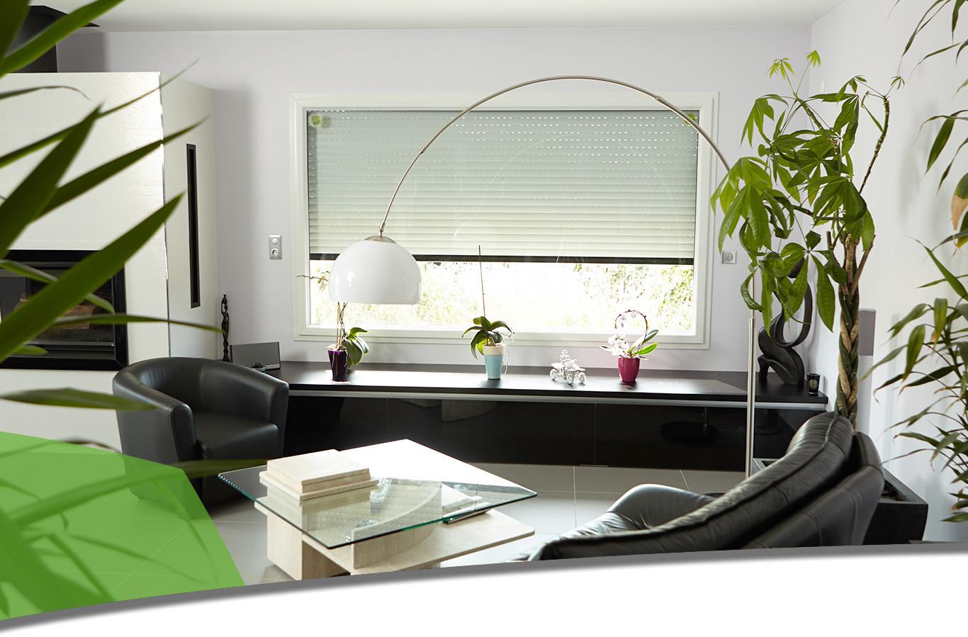 volets roulant lectrique sur mesure alu et pvc. Black Bedroom Furniture Sets. Home Design Ideas