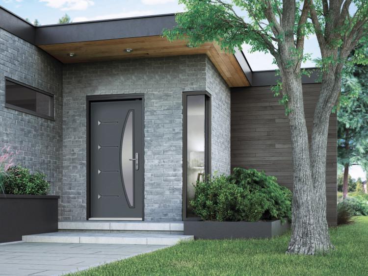 porte d 39 entr e en acier pour le prix et la performance. Black Bedroom Furniture Sets. Home Design Ideas