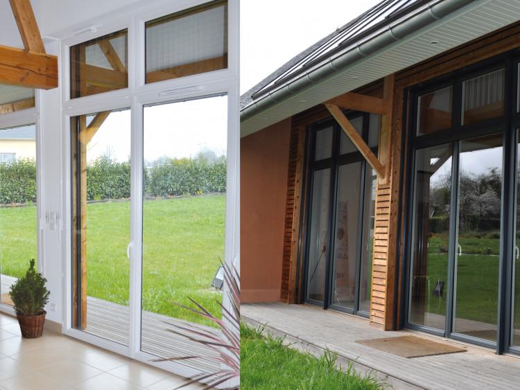 Fenêtre mixte ALU / PVC (pour la rénovation) | Fenêtre innovante des Menuiseries BOUVET