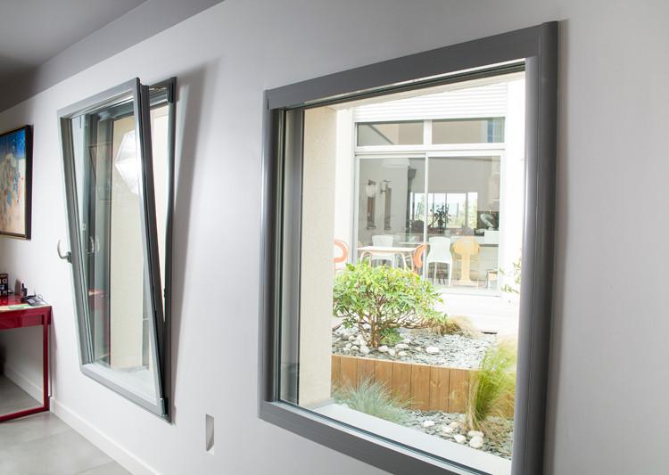 Fabuleux Fenêtre et porte fenêtre aluminium | Fenêtre innovante des  TF05