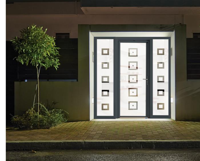 Portes d 39 entr e lumineuses fen tre innovante des for Fenetre lumineuse
